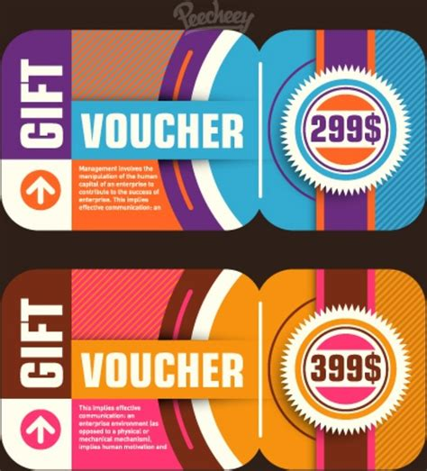 coupon template for adobe illustrator retro voucher template free vector in adobe illustrator ai