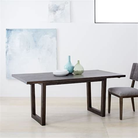 Logan Dining Table Logan Industrial Dining Table West Elm