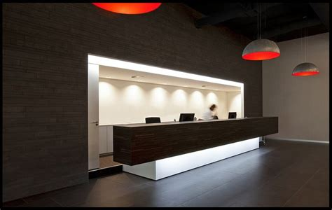 Receptionist Desk Ideas by Black And White Combine Reception Desk Ideas With Some