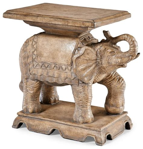 Elephant Side Table Elephant End Table Contemporary Side Tables And End Tables Cincinnati By Frontgate