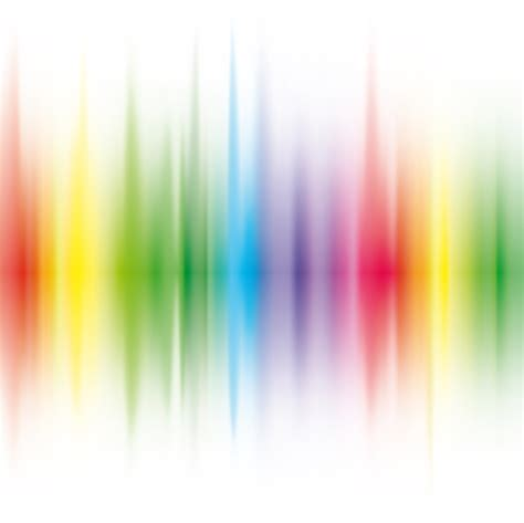 vector shiny rainbow background