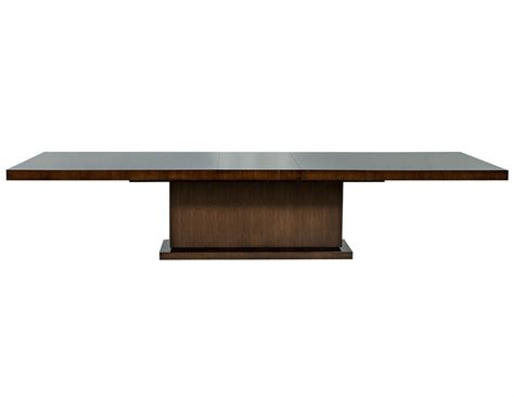 Deco Style Dining Table carrocel custom made walnut deco style dining table