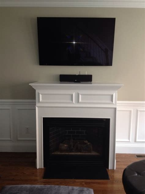 Fireplace Trim by Fireplace Trim Family Room Boston By Brosseau