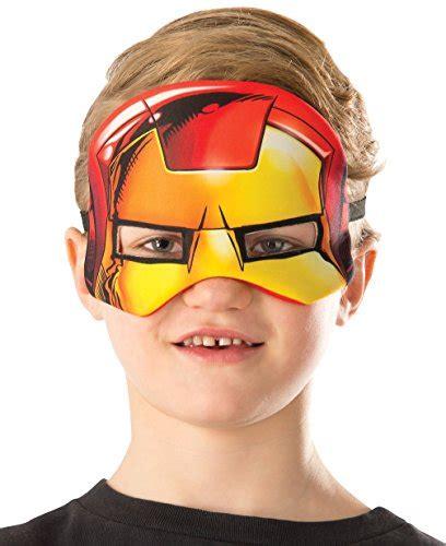 rubie s costume marvel universe iron child costume plush eye mask funtober