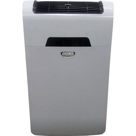 how to install idylis portable air conditioner idylis rpac10ef 10 000 btu 300 sq ft 115 volt portable air
