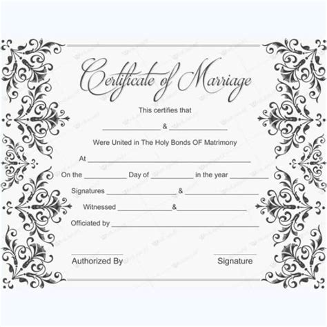 design a certificate using word create a marriage certificate word save word templates