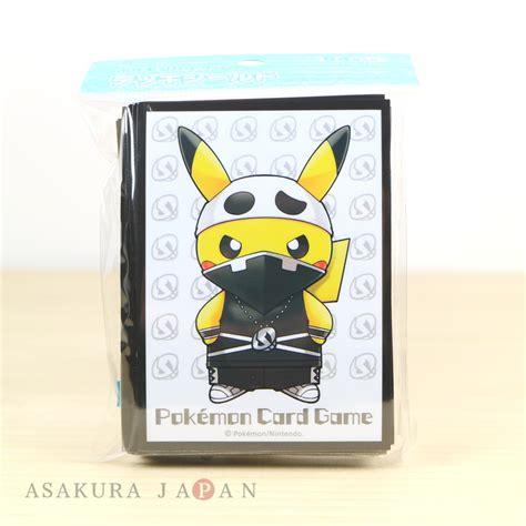 Pokemon Card Game Sleeve SECRET Team Skull Pikachu 64