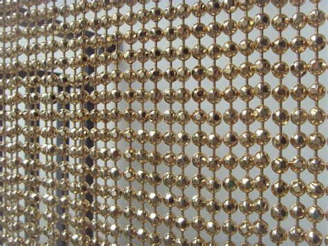 metal beads curtain metal bead curtain 13 shinning nickel color ball chain