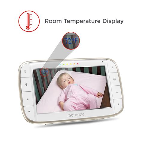 infant room temperature new motorola baby monitor wi fi remote access summer security room ebay