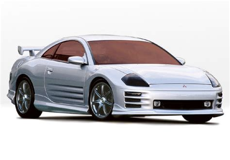 00 02 01 mitsubishi eclipse w type style wings west kit