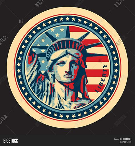 the statue of liberty symbol stock vector 169 statue of liberty york landmark and symbol of freedom