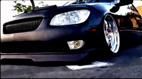 bagged lexus is300 lexus is300 chrysler crossfire srt6 bagged youtube