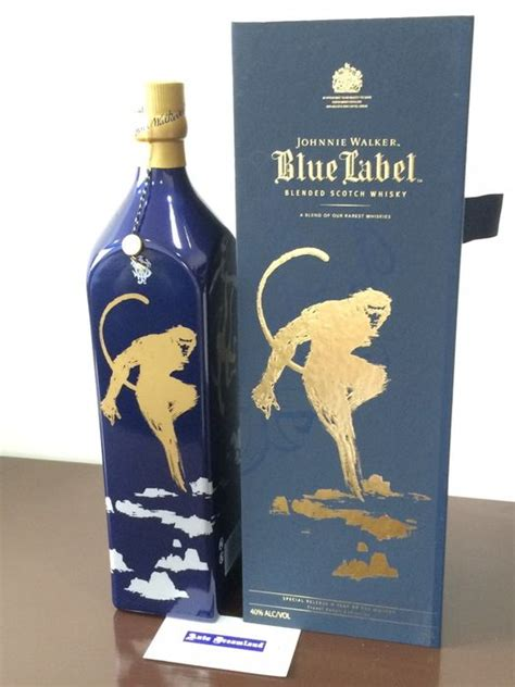 johnnie walker blue new year monkey johnnie walker blue label year of the monkey collection 1