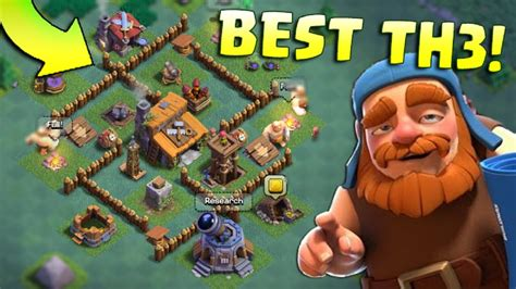 layout of coc th3 clash of clans builder hall 3 best th3 builder base