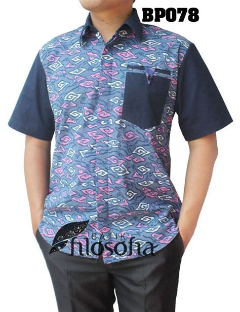 Kemeja Flower Katun Yandeth Shirt kemeja batik pria 078 kemeja batik pria