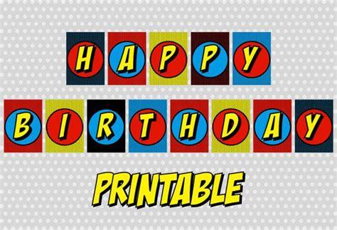printable superman birthday banner 13 best photos of free superman printable birthday banners