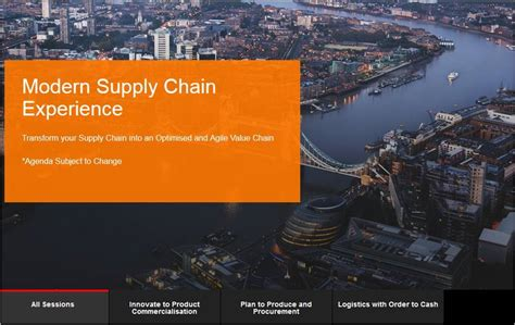 modern supply chain experience feb 2 3 oracle supply chain management