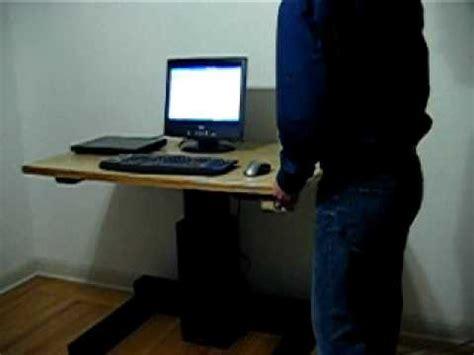 diy adjustable height desk diy height adjustable desk leviteq