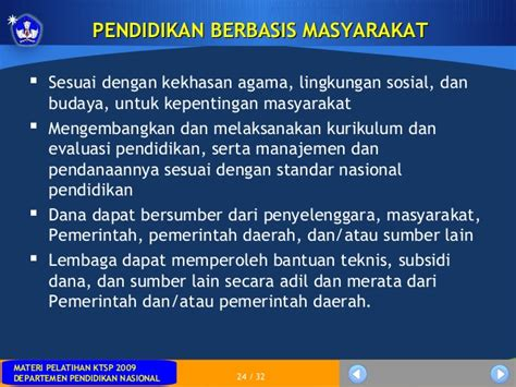 Manajemen Sekolah Mengelola Lembaga Pendidikan Secara Mandiri 3 sisdiknas uu no 20 tahun 2003