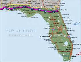 maps florida east coast map east florida deboomfotografie