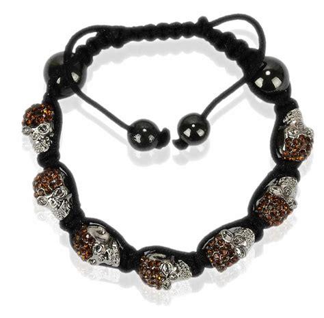 Skull Bracelet wholesale coffee skull bracelet