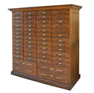 Multi Drawer Filing Cabinet American Oak Multi Drawer File Cabinet For Sale At 1stdibs