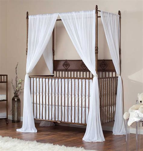 Crib With Canopy by Most Expensive Baby Cribs In The World Top Ten List