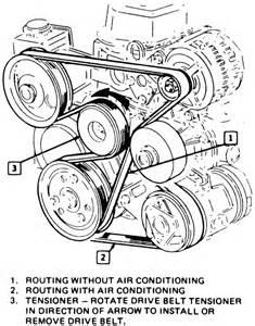 2001 Nissan Altima Belt Diagram How To Repair A Serpentine Belt On A 2001 Nissan Altima