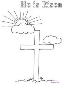 he is risen coloring page print free easter coloring pages like this he is risen