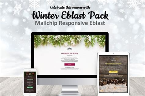 Christmas Email Templates For The Upcoming Holiday Mailing Gt3 Themes Responsive Eblast Template