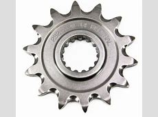 Renthal front sprockets - strength and inexpensive price tag. Kawasaki 250f