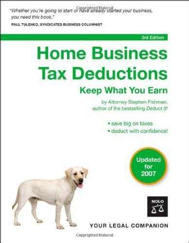home business tax deductions keep what you earn books home business tax deductions keep what you earn
