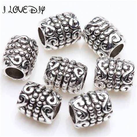 make metal jewelry wholesale metal antique silver tibetan spacer