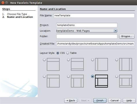 layout java definition jsf page templates with facelets dzone java