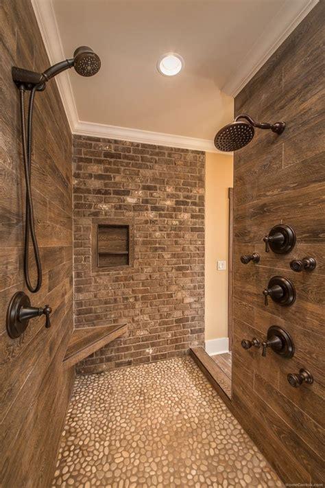 Rustic Bathroom Shower Ideas by Rustic Farmhouse Bathroom Ideas With Shower 05