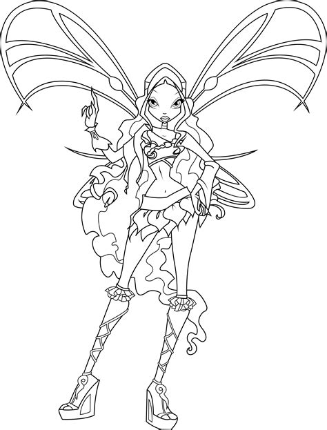 12 images of winx club bloomix coloring pages bloomix
