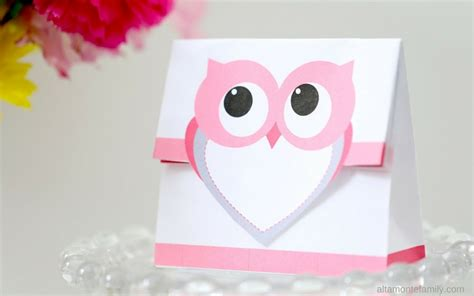 valentines day bags free printable treat bag valentines day owl