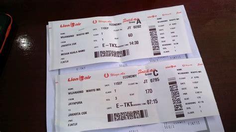 Wahyu Wijanarko ID: Penerbangan dari Jayapura ke Medan