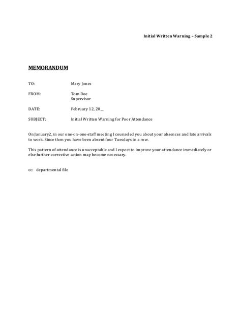 Explanation Letter For Low Sales Performance Corrective
