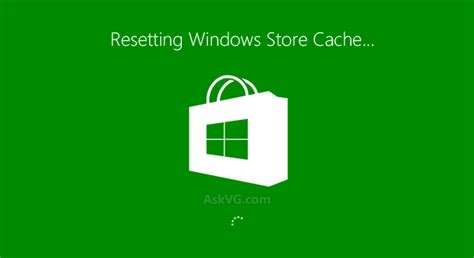 resetting windows store did you know wsreset command to clear windows store
