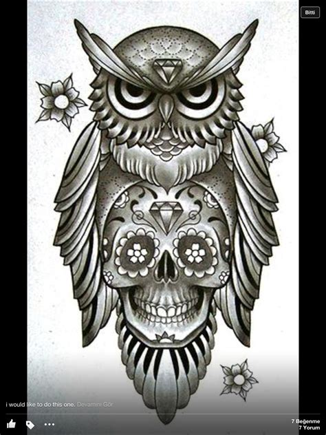 tattoo owl with skull owl n skull things i love pinterest body art and tattoo
