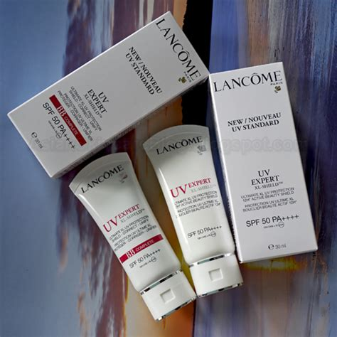 Lancome Sunblock my asian skincare story lancome uv expert xl shield spf