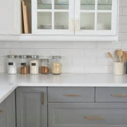subway tile kitchen backsplash ideas gray common