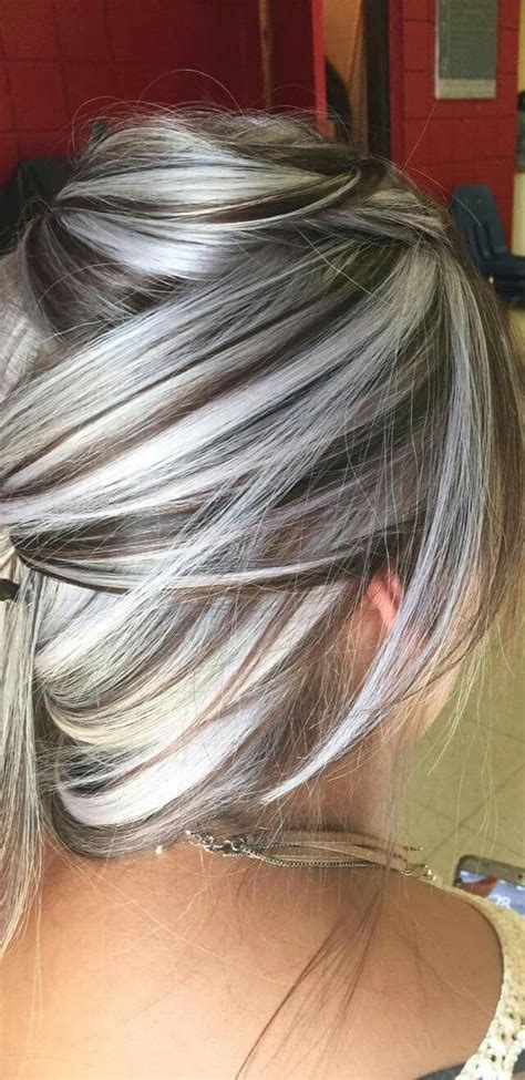 Will Silver Blonde Hair With Dark Lowlights Make Me Look Old | 25 trending pastel hair highlights ideas on pinterest