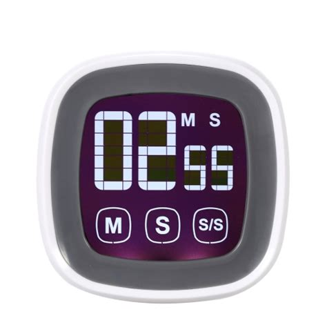 Digital Count Timer Jp9913 lcd digital touch screen cooking kitchen timer countdown count up alarm clock sales black