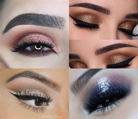 brillantina para ojos maquillaje con glitter para el d 237 a ideas de maquillaje con purpurina para estas navidades