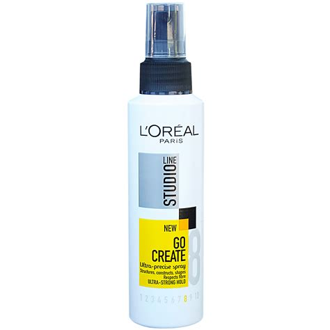 L Oreal l or 233 al studio line go create ultra precise spray