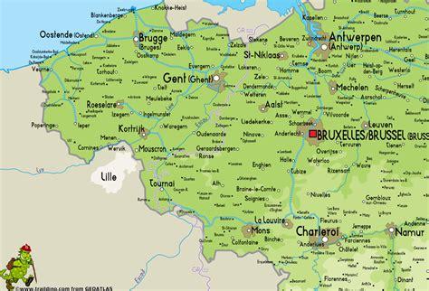 map belgium netherlands map belgium