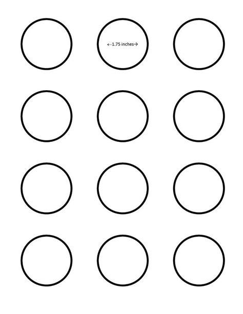 printable macaron template macaron 1 75 inch circle template google search i saved