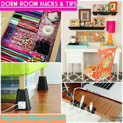 room hacks going to college dorm room hacks and tips